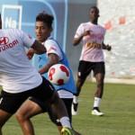 Copa América: selección peruana entrenó con suplentes (VIDEO)