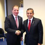 Perú y Suecia interesados en incrementar su relación bilateral