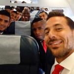 Selección peruana viaja a Chile para jugar la Copa América (VIDEO)