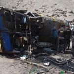 Huánuco: al menos 17 muertos, mayoría escolares, tras accidente