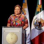 Rigoberta Menchú: insta a luchar por la supervivencia de la naturaleza el 2018