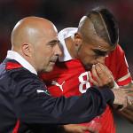 """Sampaoli: """"Arturo Vidal no será excluido de la selección de Chile"""""""