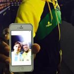 Lionel Messi: la historia detrás del selfie de Deshorn Brown