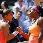 Roland Garros: Serena Williams gana y clasifica a semifinales