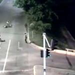 Colombia: sicario intenta rematar víctima y policía lo abate (VIDEO)