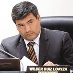 Congreso: piden 120 días de suspensión para Wilder Ruiz