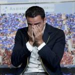 Xavi Hernández se emociona y llora con carta de Andrés Iniesta