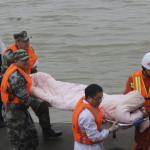 China: cinco primeras muertes por naufragio en río Yangtsé