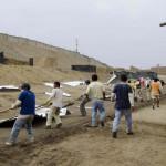 La Libertad: desalojan a invasores de zona arqueológica