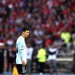 Agreden a familiares de Lionel Messi durante la final ante Chile