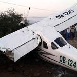Dos personas heridas tras caída de avioneta al sur de Lima