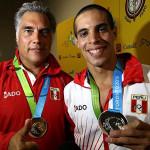 Francisco Boza y Mauricio Fiol ganan oro y plata en Toronto 2015