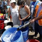 Sedapal: cortarán servicio de agua en 11 distritos de Lima