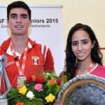 Squash: Diego Elías obtiene bicampeonato mundial en Holanda