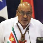 Surinam: Desi Bourtese ratificado como presidente por legisladores