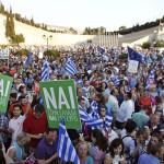 Grecia afronta el referéndum con marcada polarización