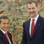 Felipe VI destaca crecimiento económico y social del Perú