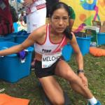 Río 2016: Peruana Inés Melchor no acabó maratón