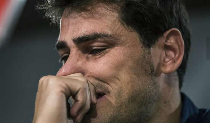 Real Madrid: Iker Casillas se despide entre lágrimas