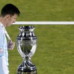 Lionel Messi: pena máxima en la copa rota