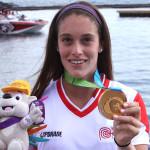 """Natalia Cuglievan celebra medalla de oro: """"Es algo increíble"""""""