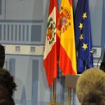 Presidente Ollanta Humala viajó en visita de Estado a España
