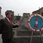 ANP realiza romería a tumba de José Carlos Mariátegui