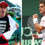 Pablo Arraya celebra triunfo en Copa Davis con popular 'bloqueo'