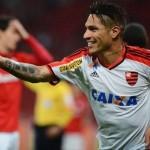 Paolo Guerrero en alineación de Flamengo ante Náutico