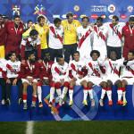 Selección peruana llega a Lima tras bronce en la Copa América
