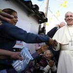 Papa Francisco visita Bañado Norte, barrio más pobre de Asunción
