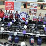 Lambayeque: Qali Warma entrega cocinas GLP a 28 colegios