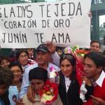 Medallista de oro Gladys Tejeda tuvo grato retorno de Toronto 2015