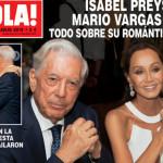 """Vargas Llosa sobre Isabel Preysler: """"Nuestra relación va muy bien"""""""