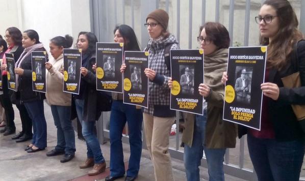 activistas hugo bustios