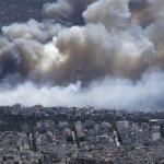 Grecia: alerta máxima por avance de gigantescos incendios forestales (VIDEOS)