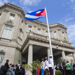 EEUU: izan bandera de Cuba en Washington luego de 54 años