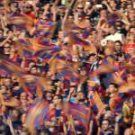 Barza multado por exhibición de banderas independentistas