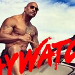 Dwayne Johnson en película de Baywatch: Guardianes de la bahía