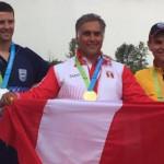 Peruano Francisco Boza esperó 50 años para bañarse en oro