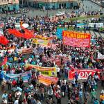 CGTP: sindicatos marchan por aumento del sueldo mínimo (VIDEO)