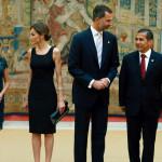 Presidente Ollanta Humala agasaja a los Reyes de España