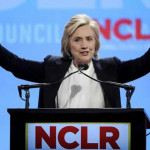"""EEUU: Hillary Clinton promete """"luchar cada día"""" por reforma migratoria"""