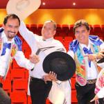 Diosdado Gaitán Castro y Los Ardiles juntos en homenaje patrio