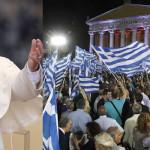 Papa Francisco exhortó a fieles rezar por futuro de Grecia