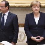 Hollande y Merkel piden a Ucrania acuerdo sobre descentralización