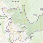 Dos sismos se registraron en el departamento de Huánuco