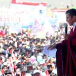 Ollanta Humala: seguiremos trabajando pese a ruido político