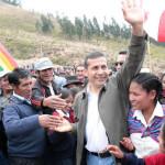 Ollanta Humala destaca reducción de espacio cocalero