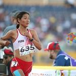 Inés Melchor quedó quinta en 10 mil metros en Toronto 2015